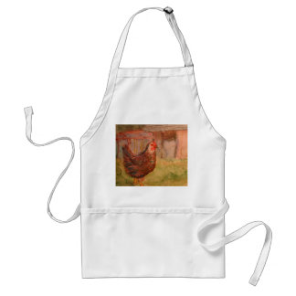 Three Squares A Day Adult Apron