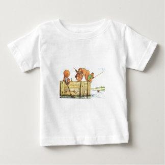 Three Squirrels Fishing Shirt