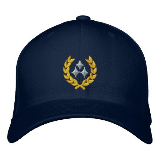 Three Star General Embroidered Baseball Cap