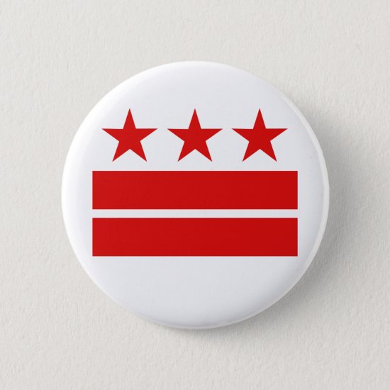 Three Stars 2 Bars Pinback Button