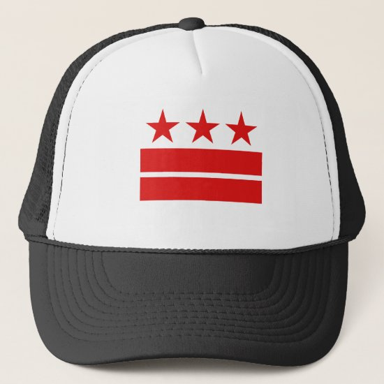 Three Stars 2 Bars Trucker Hat
