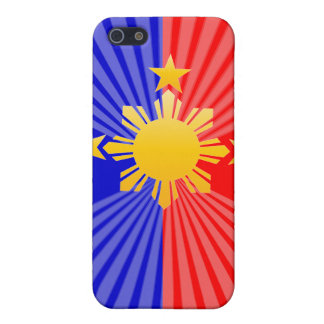 Three Stars & A Sun Stylized Philippine Flag iPhone SE/5/5s Case