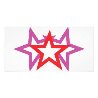 three stars icon card