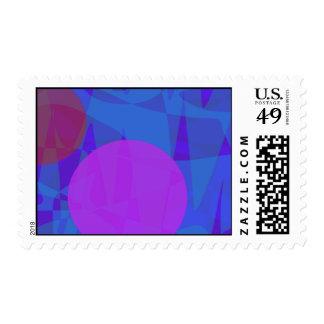 Three Stars Postage Stamp