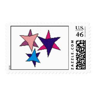 Three Stars stamp