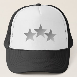 Three Stars Trucker Hat