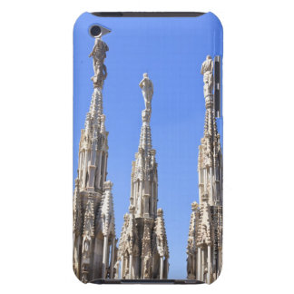 Three statues towers on the Duomo of Milan Barely There iPod Cases