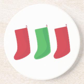 Three Stockings Coaster