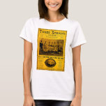 Three Strikes Two Step 1902 Vintage Sheet Music T-Shirt