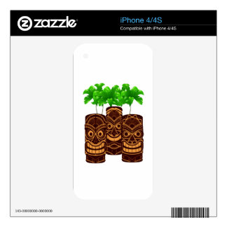 Three Strong Skin For iPhone 4