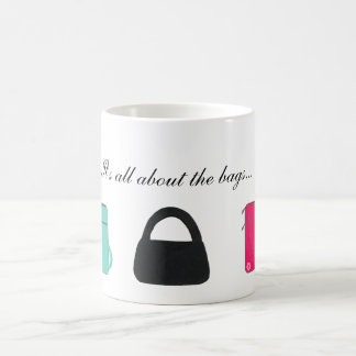 Three Stylish Handbags Coffee Mug