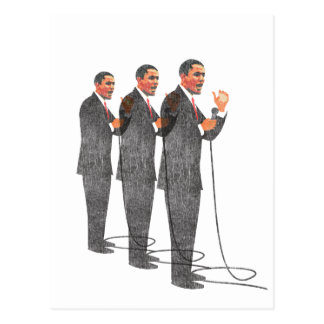 Three Suits - Obama Inauguration Post Cards