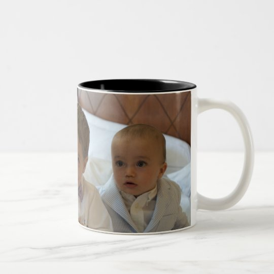 Three Suits Two-Tone Coffee Mug