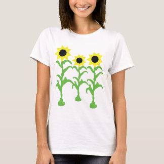 three sun flowers icon T-Shirt