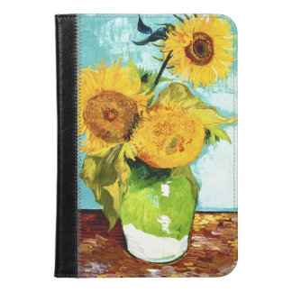 Three Sunflowers by Van Gogh Fine Art iPad Mini Case
