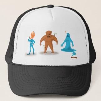 Three Super Heros Trucker Hat