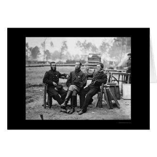 Three Surgeons at the Siege of Petersburg, VA 1864 Greeting Card