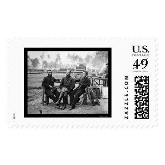 Three Surgeons at the Siege of Petersburg, VA 1864 Stamp