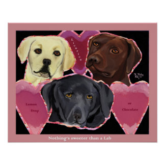 Three Sweet Labs poster