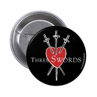 Three Swords Button