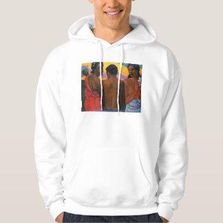 'Three Tahitians' - Paul Gauguin Hoodie