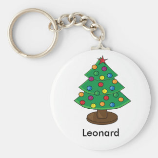 Three Tier Christmas Tree Keychain