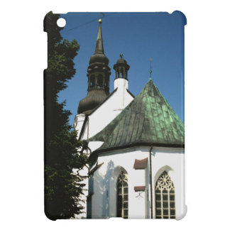 Three Tiered Old World Church, Weathered Copper iPad Mini Cover