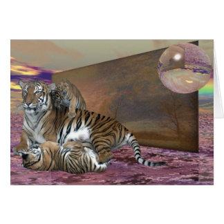 Three Tigers Card