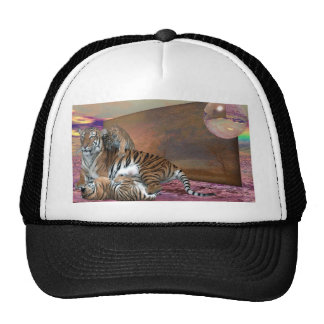 Three Tigers Mesh Hat