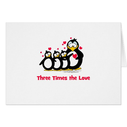 three times the love card