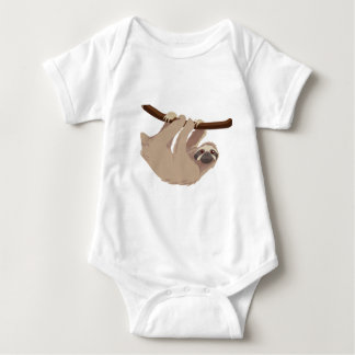 Three Toed Sloth Baby Bodysuit