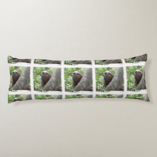 Three Toed Sloth Body Pillow