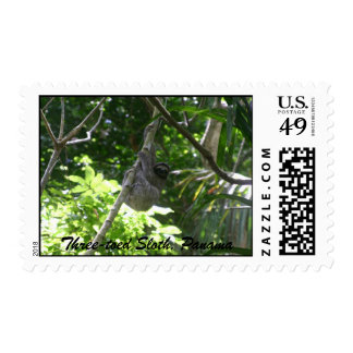 Three-toed Sloth, Panama Postage