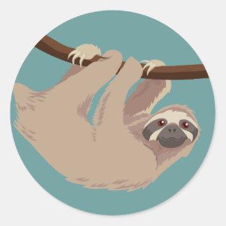 Three Toed Sloth Sticker