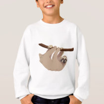 Three Toed Sloth Sweatshirt