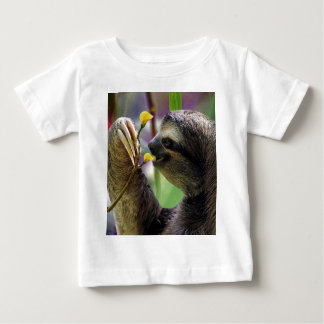 Three-Toed Tree Sloth Baby T-Shirt
