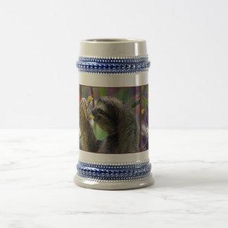 Three-Toed Tree Sloth Beer Stein