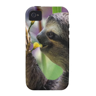 Three-Toed Tree Sloth iPhone 4 Covers