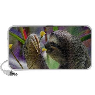 Three-Toed Tree Sloth Notebook Speaker