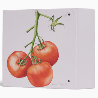 Three Tomatoes on the Vine 1997 3 Ring Binder