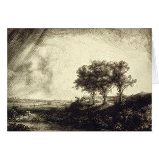 Three Trees - Holland 1643 Card