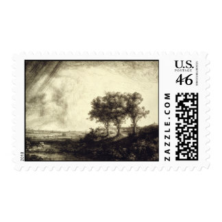 Three Trees - Holland 1643 Stamps