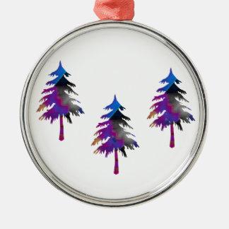 Three Trees Premium Round Ornament