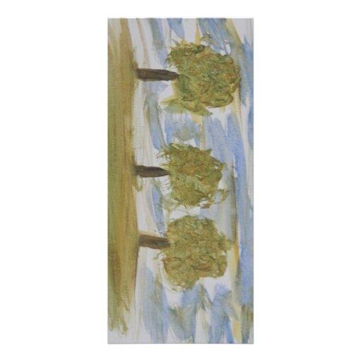 Three Trees Rack Card Template