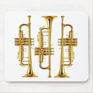 Three Trumpets Mouse Pad