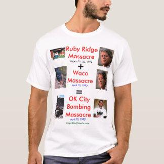 Three U.S. Massacres T-Shirt