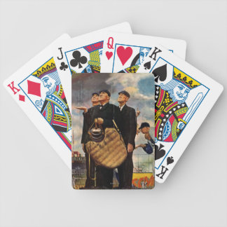 Three Umpires Bicycle Playing Cards