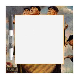 Three Umpires Dry-Erase Board