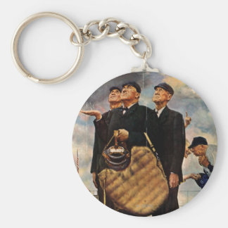 Three Umpires Keychain