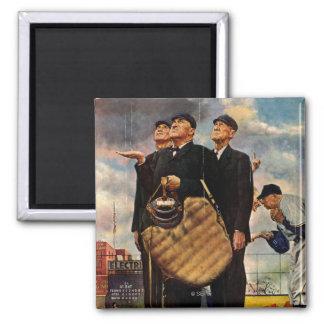 Three Umpires Magnets
